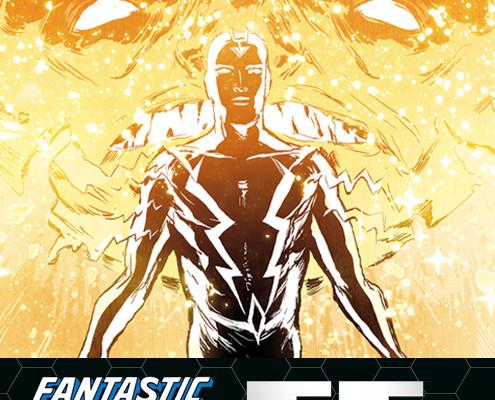 "Marvel Teases Blackbolt in the New Cover of ""Fantastic Four"" #600"