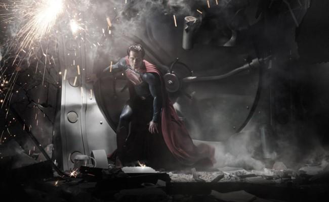 """Man of Steel"" Set Pics"