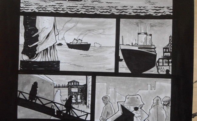 """Awesome New Preview for Indie Comic """"The Tragic Life of Bill Monroe: The Lady at Loreley Bay"""""""