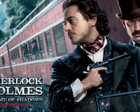 """""""Sherlock Holmes: A Game Of Shadows"""" Gets New Poster And Wallpaper"""