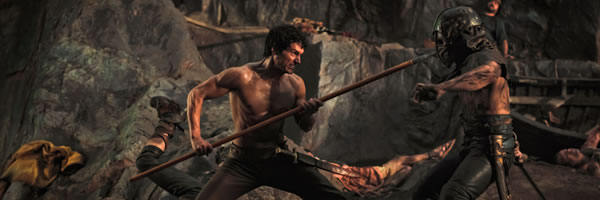 "Insanely Gory scene from ""Immortals"""
