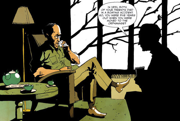 """PETER PANZERFAUST"" PREVIEW"