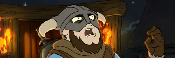 "Another hilarious ""Skyrim"" animated short"