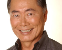 GEORGE TAKEI BRINGS PEACE TO THE STAR PEOPLE