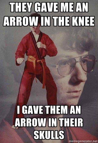 arrow4 top 10 'arrow to the knee' memes unleash the fanboy