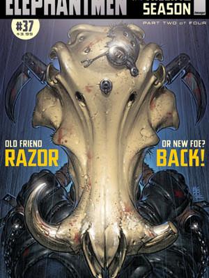 Elephantmen #37 | Richard Starkings | Axel Medellin