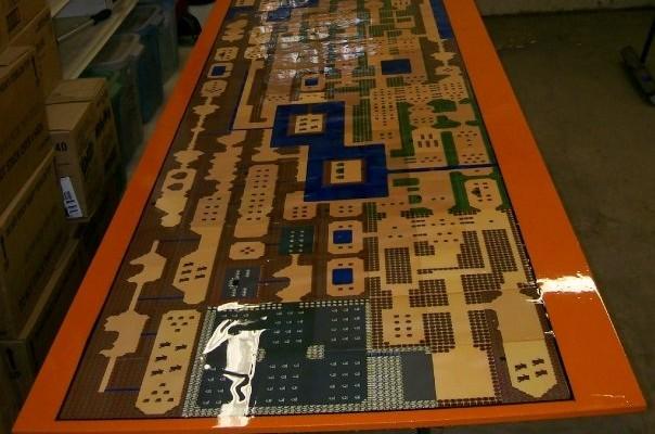 Legend of Zelda Beer Pong Table