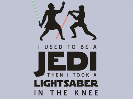 "Lightsabers Finally Meet ""Arrow to the Knee"" Meme"