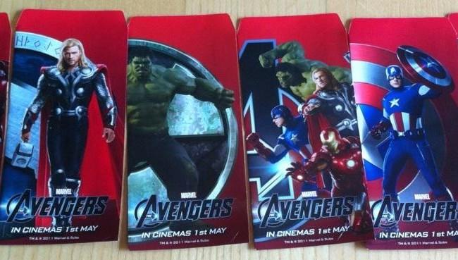 New Pics of The Avengers Cast