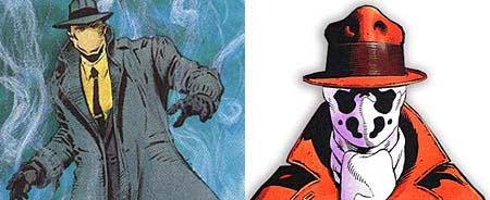 """THE QUESTION"" became ""RORSCHACH""."