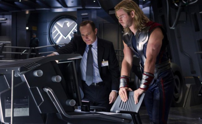 New Avengers Set Photo