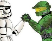 Star Wars vs Halo Game!