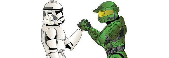 Star Wars vs Halo Game!