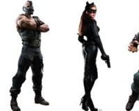 New Look At Bane And Catwoman In Theatre Standees