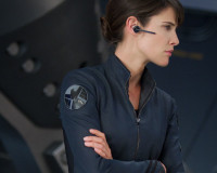 New Looks At Nick Fury And Maria Hill In Stills From The Avengers