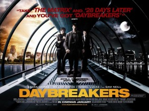 Daybreakers movie banner