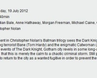 Has The REAL Run-Time For The Dark Knight Rises Been Confirmed?