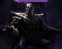 Thanos and his full on assault of the Marvel Universe!