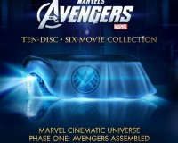 'Marvel Cinematic Universe Phase 1- Avengers Assembled' 6 Film, 10-Disc Collection Announced