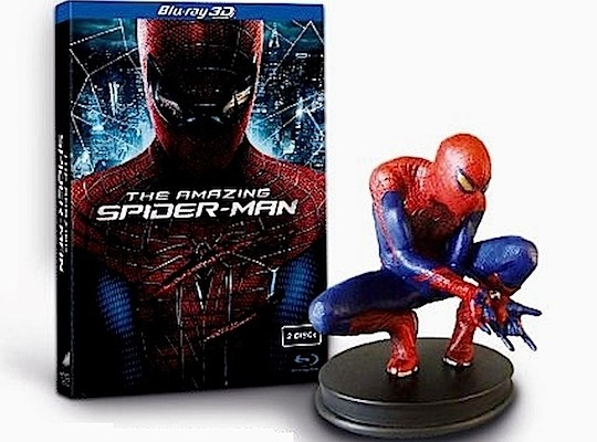 THE AMAZING SPIDER-MAN Blu-ray Deets