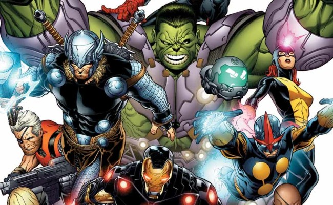 Marvel NOW! is coming