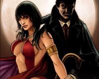 Dark Shadows / Vampirella #1 Review