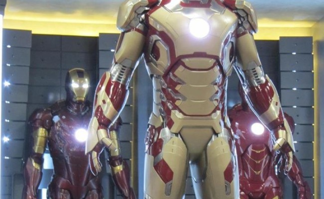 There Will Be 40 Iron Man Armours In IRON MAN 3