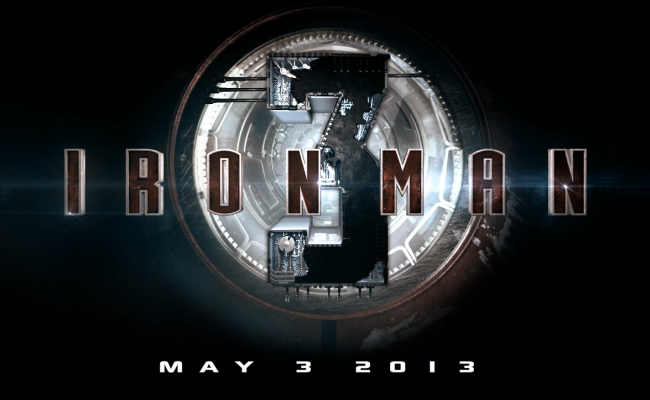 First Footage From IRON MAN 3 Hits!