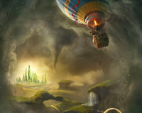 Spectacular First Teaser Poster For Oz: The Great And Powerful