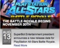 PLAYSTATION ALL-STARS Rumored Delay