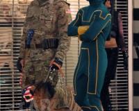 KICK ASS 2: Jim Carrey Looks Bad Ass In Leaked Set Video