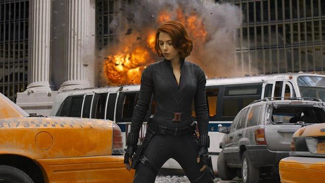 The Avengers Black Widow