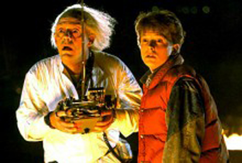 back to the future FANGIRL UNLEASHED: Time Travel Classics
