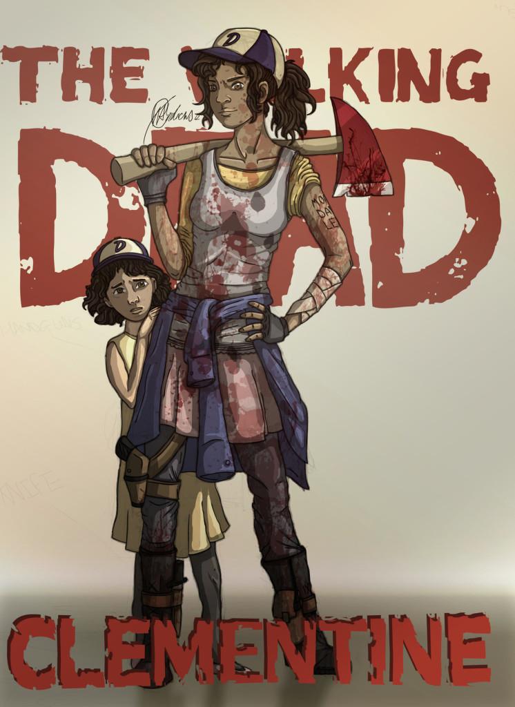 Fan Art The Walking Dead S Clementine Is All Grown Up