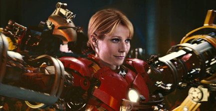 Gwenyth Paltrow Suits Up for IRON MAN 3