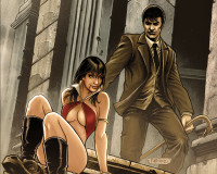 Dark Shadows / Vampirella #5 Review