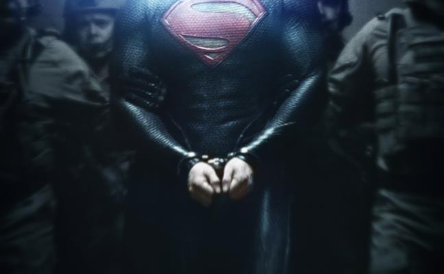 New MAN OF STEEL Poster!