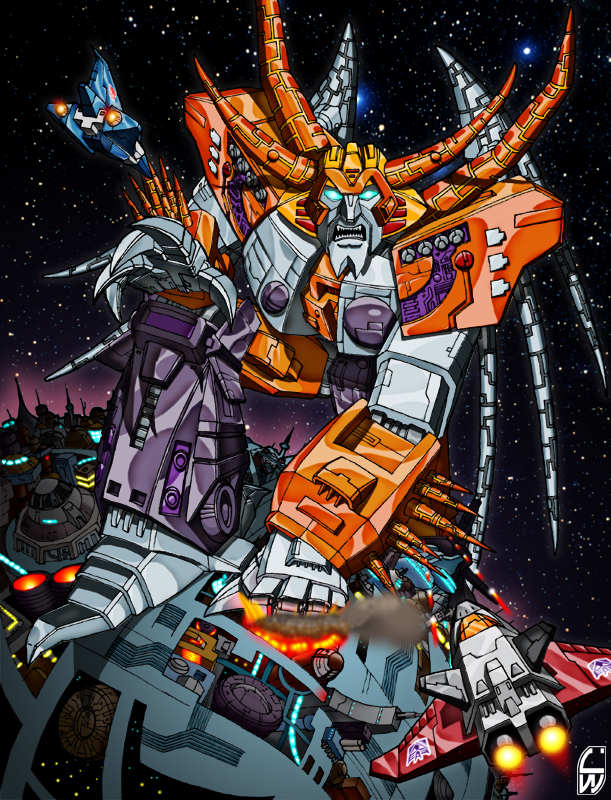 Transformers 4 Unicron UPDATED Exclusi...