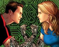 Bionic Man vs Bionic Woman #1 Review