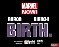 "Marvel NOW! has a New Teaser: ""BIRTH."""