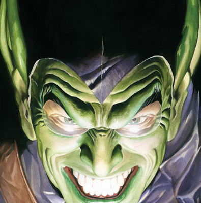 GREEN GOBLIN Could Be In the Final Brawl in THE AMAZING SPIDER-MAN 2.  Won't Be Ultimate Version.