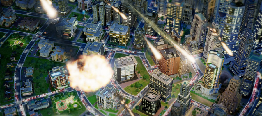 EA Botch SimCity Release - Rumor: Godzilla Attacked The Servers