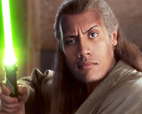 THE ROCK Wants To Be a JEDI… or SITH
