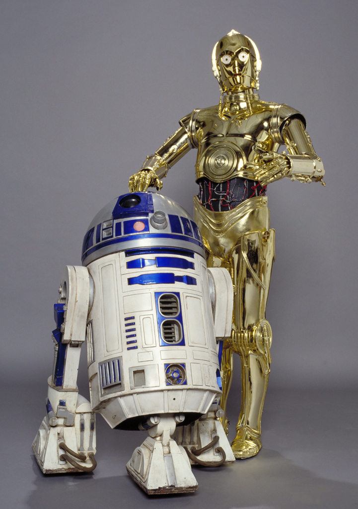 Is the loveable robot c 3po in star wars 7 unleash the - Robot blanc star wars ...