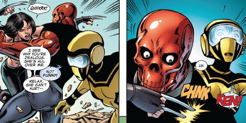 Hazmat & Mettle in Avengers Academy
