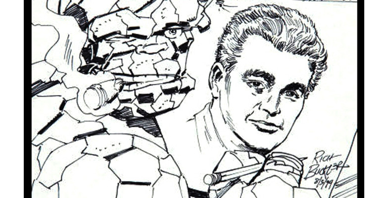 JACK KIRBY Drawn By THE THING