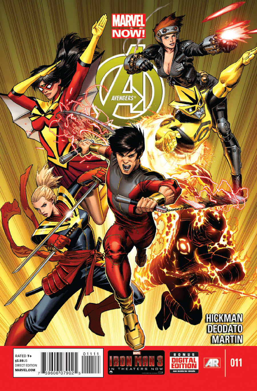 Shang-Chi in Avengers #11