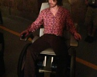 JAMES MCAVOY Looks Like Lieutenant Dan in new DAYS OF FUTURE PAST Pic