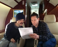 PETER DINKLAGE and BRYAN SINGER Pow Wow Over DAYS OF FUTURE PAST