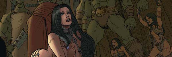 Dejah Thoris and the Green Men of Mars Banner